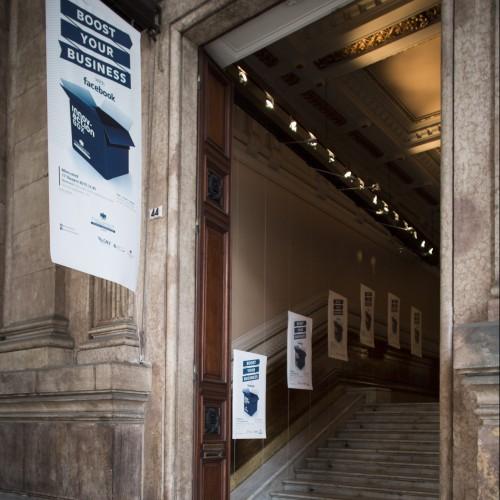 Boost your business, Road-show - Facebook event - Genova, Palazzo della borsa - Giugno 2015