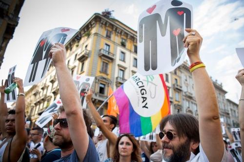 LGBTQ Pride 2016 - Milano©EMM2016  www.ericamela.com  www.facebook.com/ericamelamagagnato